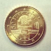 50 Евроцентов 2011 год. Австрия