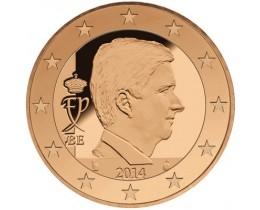 5 евроцентов 2014 год. Бельгия