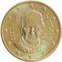 50 Евроцентов 2014 год. Ватикан