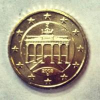 50 Евроцентов 2003 Германия (двор D)