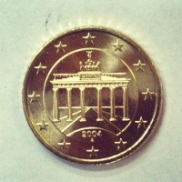 50 Евроцентов 2004 год. Германия (двор А)