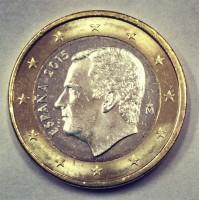 1 Евро 2015 год. Испания