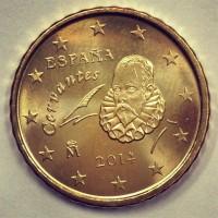 10 евроцентов 2014 год. Испания