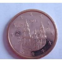 2 евроцента 2012 год. Испания