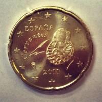 20 Евроцентов 2011 год. Испания