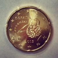 20 Евроцентов 2013 год. Испания
