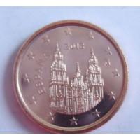 1 евроцент 2012 год. Испания