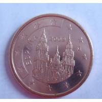 5 евроцентов 2009 год. Испания