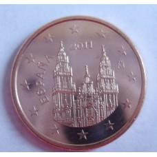 5 евроцентов 2011 год. Испания