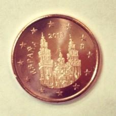 5 евроцентов 2013 год. Испания