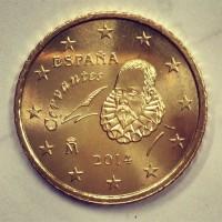 50 Евроцентов 2014 год. Испания