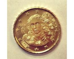 10 евроцентов 2009 год. Италия