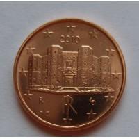 1 евроцент 2010 год. Италия