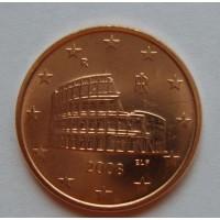 5 евроцентов 2008 год. Италия