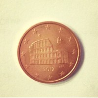 5 евроцентов 2012 Италия
