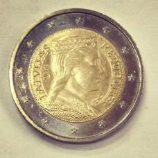 2 евро 2014 год. Латвия