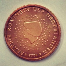 2 Евроцента 2006 год. Нидерланды