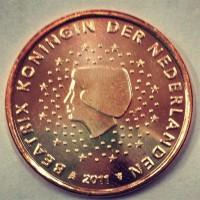5 Евроцентов 2011 год. Нидерланды