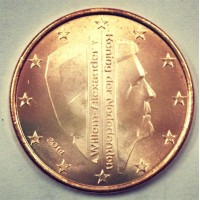 5 Евроцентов 2014 год. Нидерланды