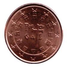 1 евроцент 2009 год. Португалия