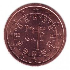 2 евроцента 2002 год. Португалия