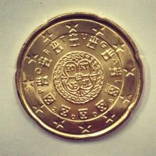 20 евроцентов 2009 год. Португалия