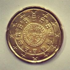 20 евроцентов 2010 год. Португалия