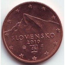 2 евроцента 2010 год. Словакия