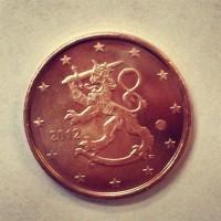 2 евроцента 2012 год. Финляндия