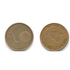 1 Евроцент 2011 год. Эстония.