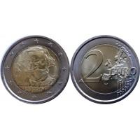 2 евро 2013 год. Италия. Джузеппе Верди.