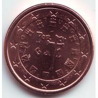 1 евроцент 2012 год. Португалия