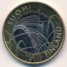 5 Евро 2011 год. Финляндия. Саво