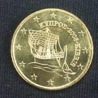 50 Евроцентов 2008 год. Кипр