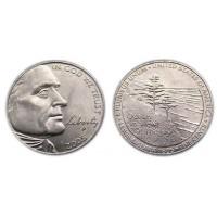 5 центов 2005 год. США. Выход к океану, двор P