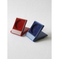 Футляр пластиковый (79х106х16 мм) для одной монеты в капсуле (диаметр 58 мм), синий