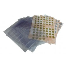 Комплект разделителей + листы для монет СССР регулярного чекана 1961-1991 год.