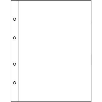 Лист вертикальный для бон, открыток 190х220мм на 1 ячейку 170х205мм  Для альбомов формата Нумис.