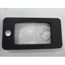 Лупа с подсветкой (Айфон) в кожаном чехле G-188
