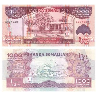 Банкнота. Сомалиленд 1000 шиллингов 2011 год