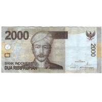 Банкнота Индонезия 2000 рупий 2015 год