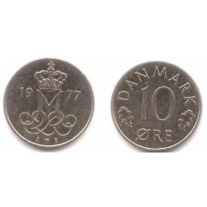 10 Эре 1977 год. Дания