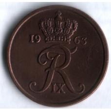 5 эре 1963 год. Дания.
