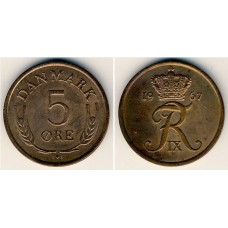 5 Эре 1967 год. Дания