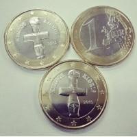 1 Евро 2015 год. Кипр
