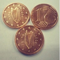 1 Евроцент 2006 год. Ирландия
