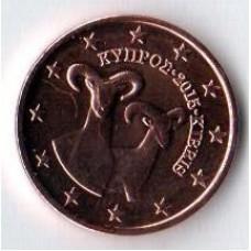 1 Евроцент 2015 год. Кипр