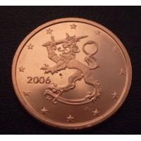 2 евроцента 2006 год. Финляндия