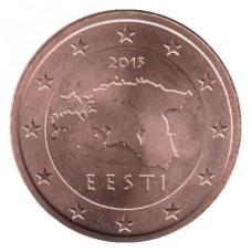 2 Евроцента 2015 год. Эстония