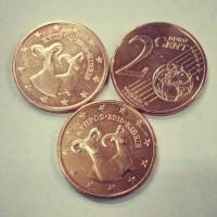 2 Евроцента 2015 год. Кипр